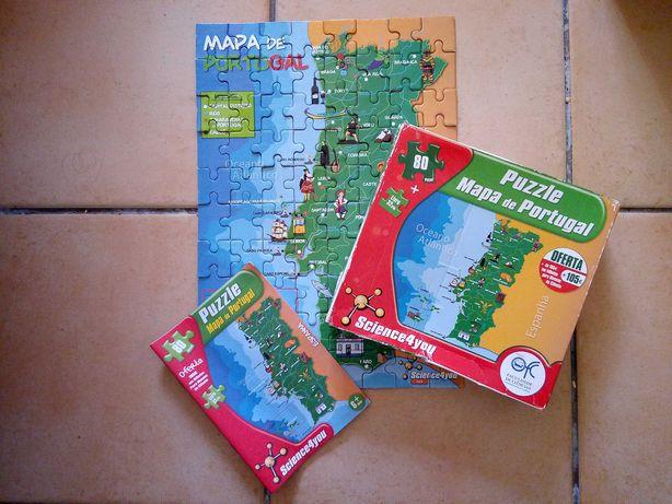 Puzzle Mapa de Portugal Science4you