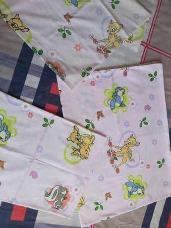 Постельное белье Комплект в детскую кроватку. 100% хлопок