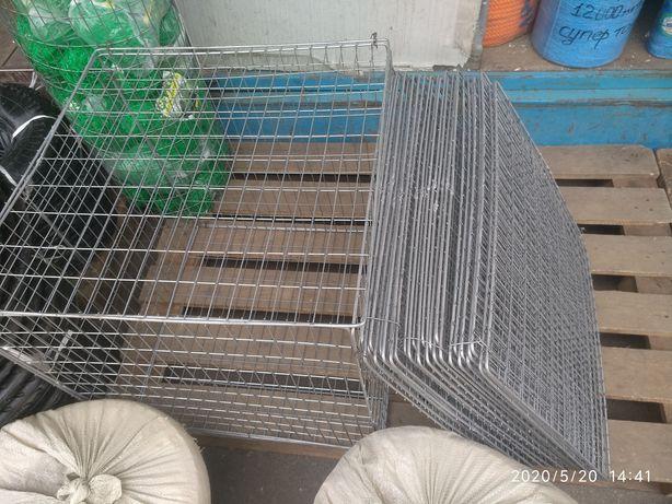 Сетка Сітка сварная оцинкованная Рамки ящики для птицы 0,5м*0,5м 50*25
