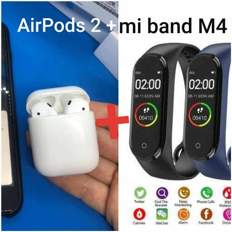 АКЦИЯ! Наушники Airpods 2 1:1  как оригинал, apple / айпордс