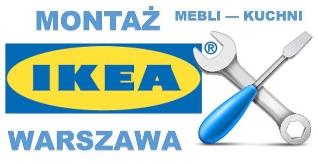 Montaż, składanie, skręcanie mebli Ikea i innych... Warszawa
