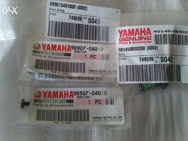 Yamaha aerox - parafusos