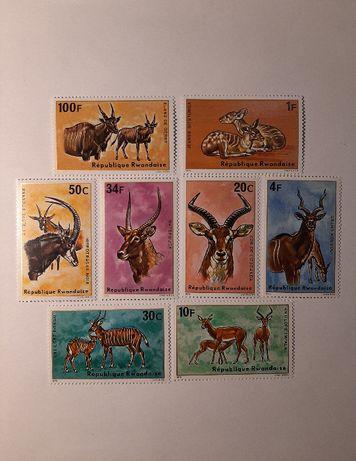 Znaczki pocztowe - zestaw 27