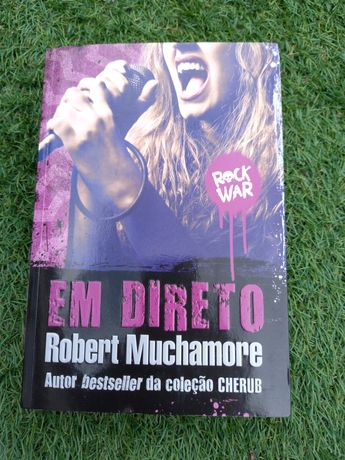 """Livro """"Rock war 3, Em direto"""""""