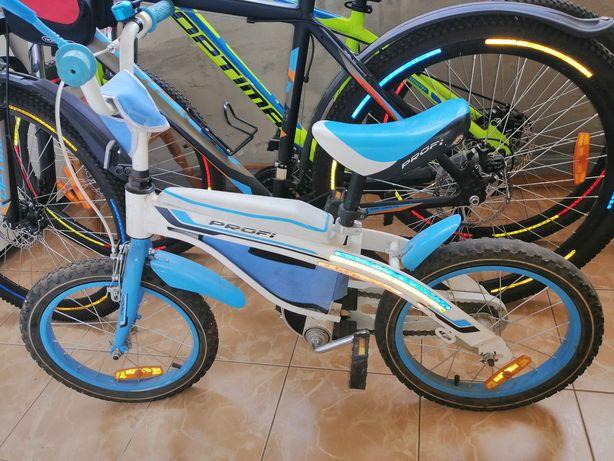 Велосипед детский 16 колеса Profi. Нужен небольшой ремонт!!!