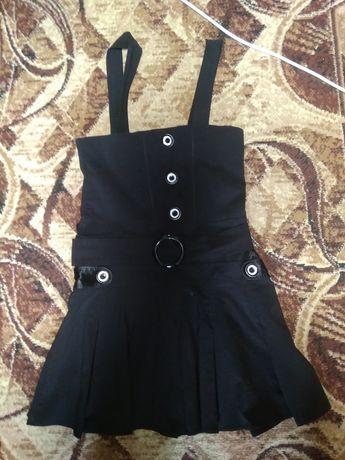 Школьный сарафан, платье.