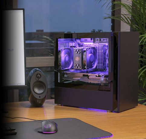 Premium PC AMD Ryzen 5 3600 + RTX 2060 + 16GB 3200 MHz Turbo Gaming