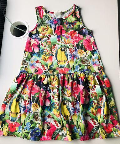 Sukienka Kate Morgan Studio dla H&M 110/116 4-6 lat