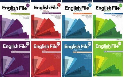 English File 4th edition все книги