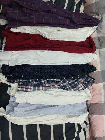 Koszule męskie ( Reserved, zara, bershka)