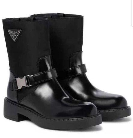 Ботинки сапоги Prada прада диор dior