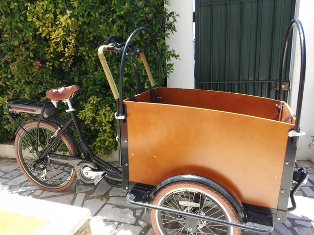 Bicicleta/triciclo de Carga ELÉTRICA - RESERVADO!!!