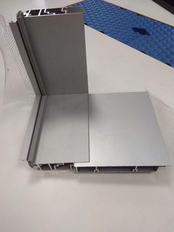 Профиль дверной коробки алюминиевый с добором (скрытые двери) BLD-4005