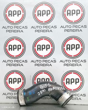 Tubo de intercooler Audi A3 Golf 5, Leon 1P 2.0 TDI 140 CV referência 1K0145 838D