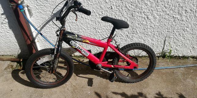 Bicicleta Berg, roda 16