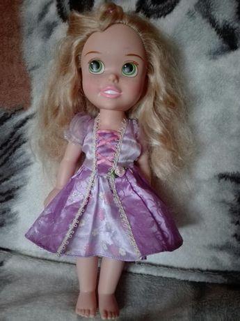 Duża lalka Roszpunka Disney GRATIS sukienka,Lalaloopsy brokatowe oczy