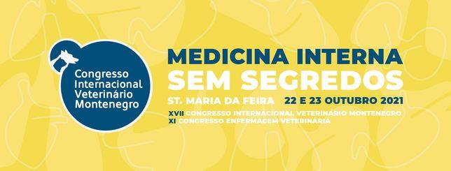 Bilhete Congresso Internacional Veterinário de Montenegro