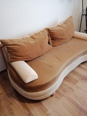 Sofa, kanapa rozkładana + dwa fotele