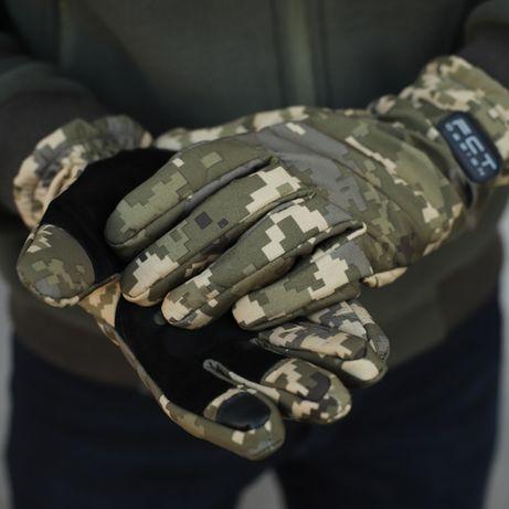 3 цвета\Непромокаемые перчатки SoftShell\перчатки зимние с тачскрином