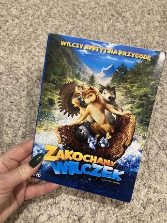 DVD z książką Zakochany Wilczek