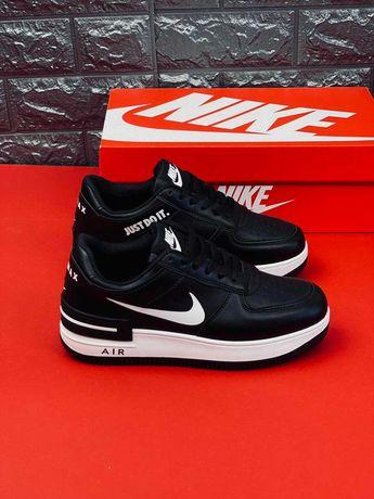 Кожа!!! Кроссовки Nike Air Force AF2 Just Do It женские Найк. ТОРГ!!!