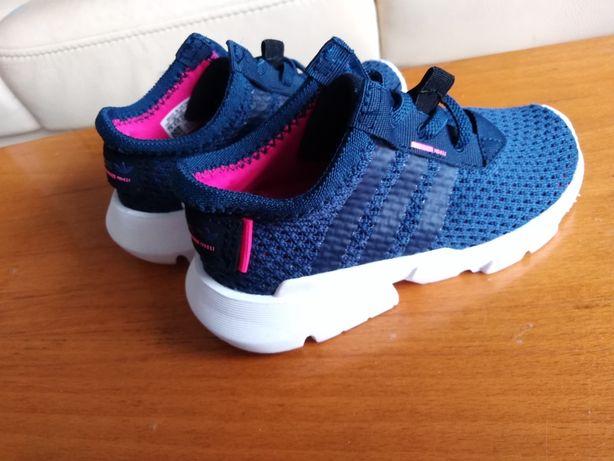 Adidas oryginalne butki dla dziecka letnie rozm 23 1/2 14 cm.