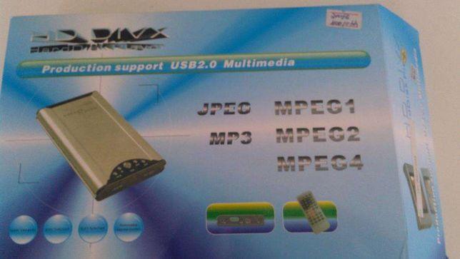 HDD player ( leitor portátil de discos rígidos )