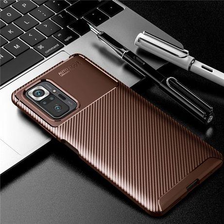 Чехол Redmi Note 10 Pro Карбон