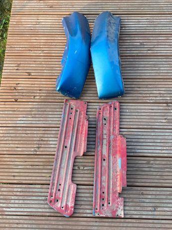 Osłony podesty podnóżki owiewki Simson SR50 skuter części