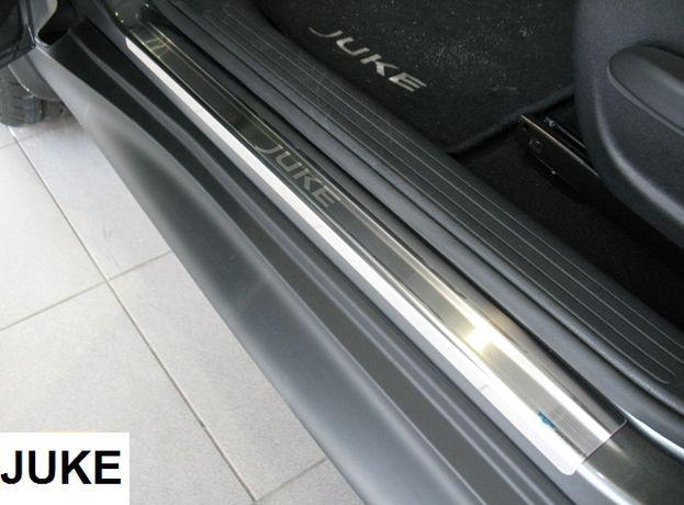 Накладки на пороги/бампер Nissan ALMERA JUKE NOTE NV200 TIIDA накладка