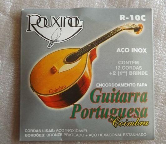 Cordas guitarra portuguesa Coimbra - Rouxinol
