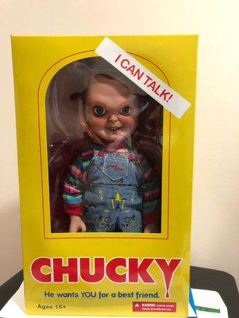 Vendo Chucky oficial da Mezco