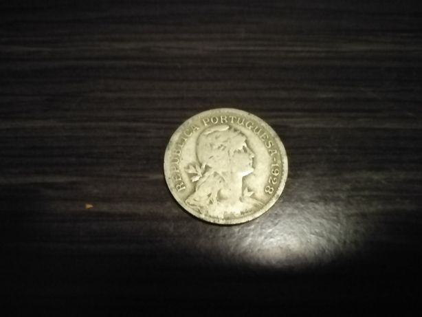 Moeda 50 centavos 1928