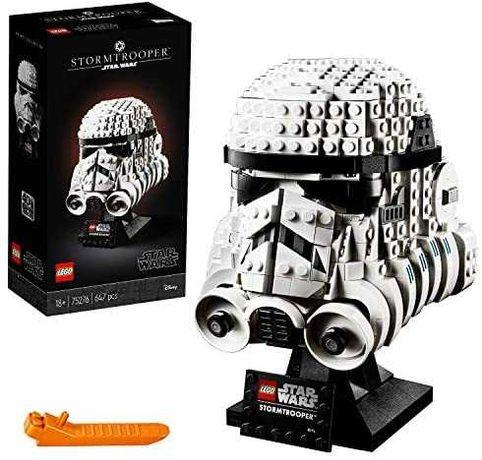 Lego 75276 Capacete Stormtrooper Novo Selado