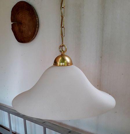 Candeeiro de teto em vidro
