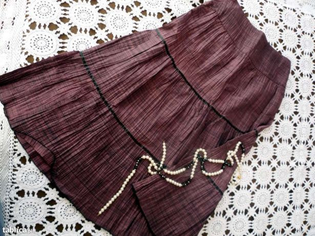LINEAR śliczna spódnica midi 38 M elegancka świetna jakość PREMIUM