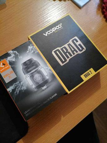 Voopoo Drag 2 +Zeus X Вейп,Набор для Вейпа.Одесса.Электронные сигареты