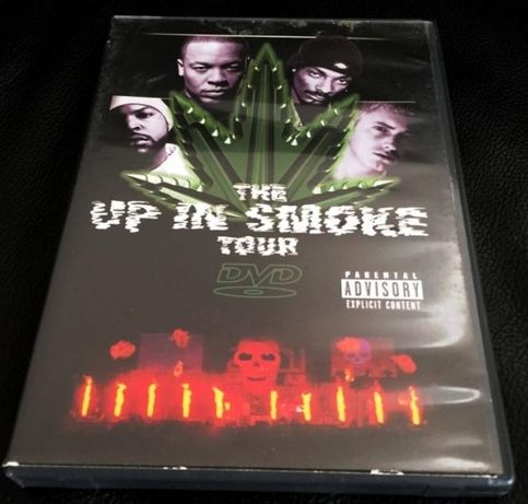 DVD The Up In Smoke Tour KONCERT Dr. Dre, Snoop Dogg, Eminem, Ice Cube