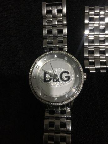 Relógio Prateado D&G