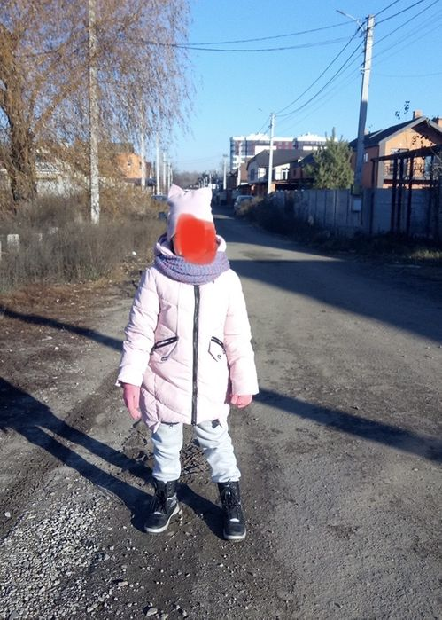 Зимняя куртка на девочку Киев - изображение 1