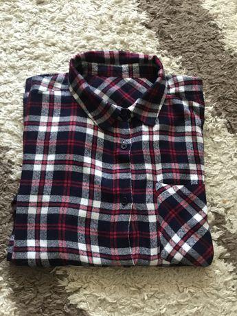 Теплая рубашка на ребенка