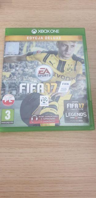 XBOX ONE FIFA 17 edycja deluxe