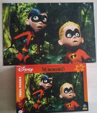 Puzzle Iniemamocni Incredibles 2 100 Trefl