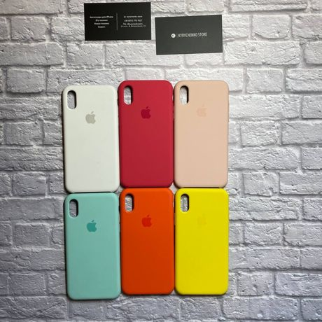 БЕЗ ШВОВ Silicone Case original iPhone 7/8/SE/X/11 pro max/Xs/Plus