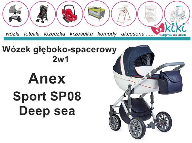 Wózek głęboko-spacerowy 2w1 Anex Sport SP 08
