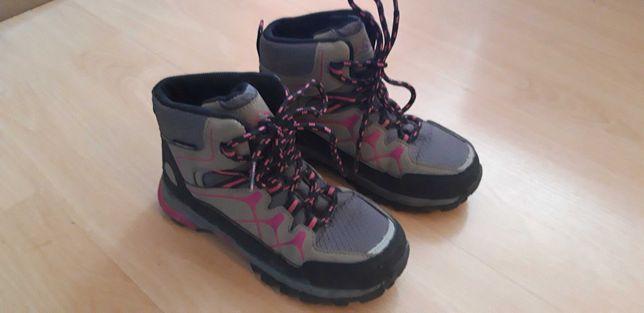 Buty dziewczęce trekkingowe r.30