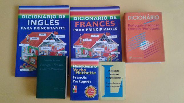 Dicionários de Francês/ Inglês