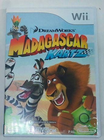 """""""Madagascar Kartz"""" gra Nintendo Wii wersja angielska"""