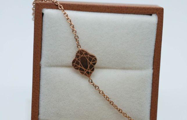 Złota bransoletka pr 750