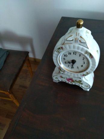 Zegar porcelana Chodzież